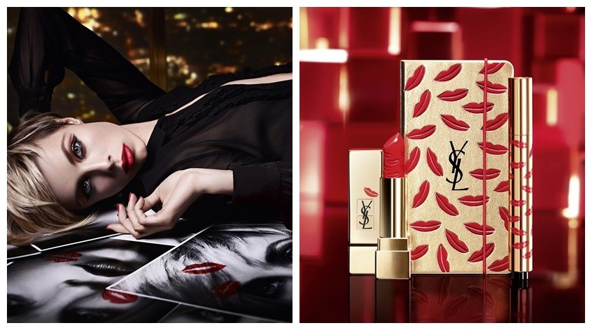 YSL Holiday 2015 Kiss & Love Makeup Collection