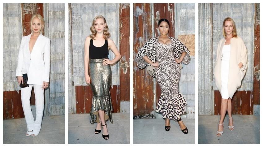Margot Robbie, Amanda Seyfried, Nicki Minaj, Uma Thurman