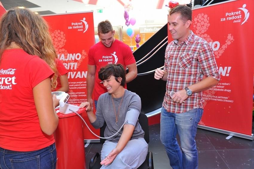 Mirna Medaković pristupila je mjerenju tjelesne spremnosti!