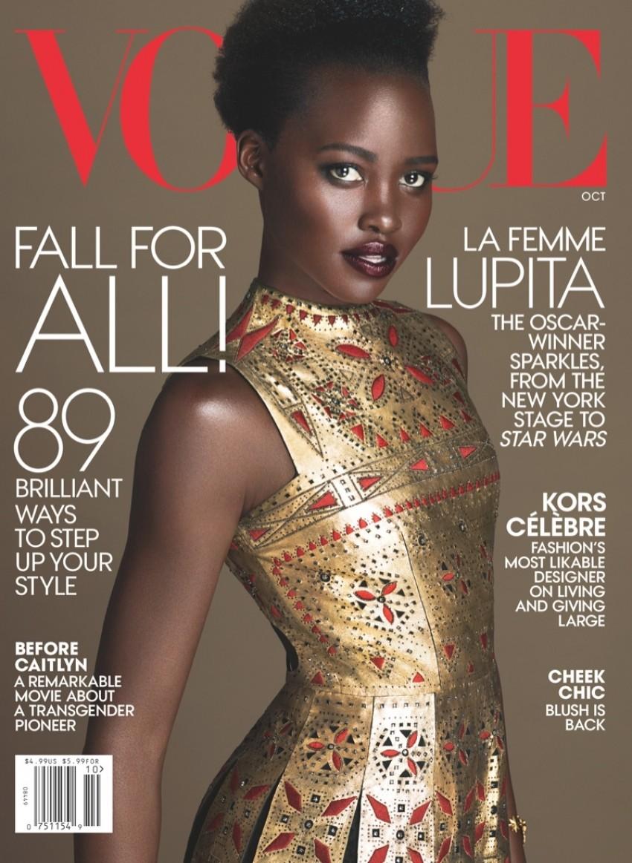 Lupita Nyongo na naslovnici američkog Vogue za listopad