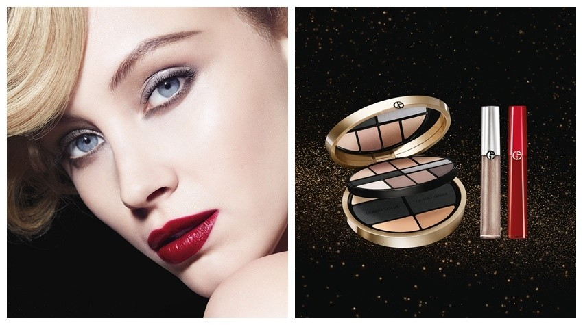 "Giorgio Armani Holiday 2015 ""Luxe Is More"" kolekcija"