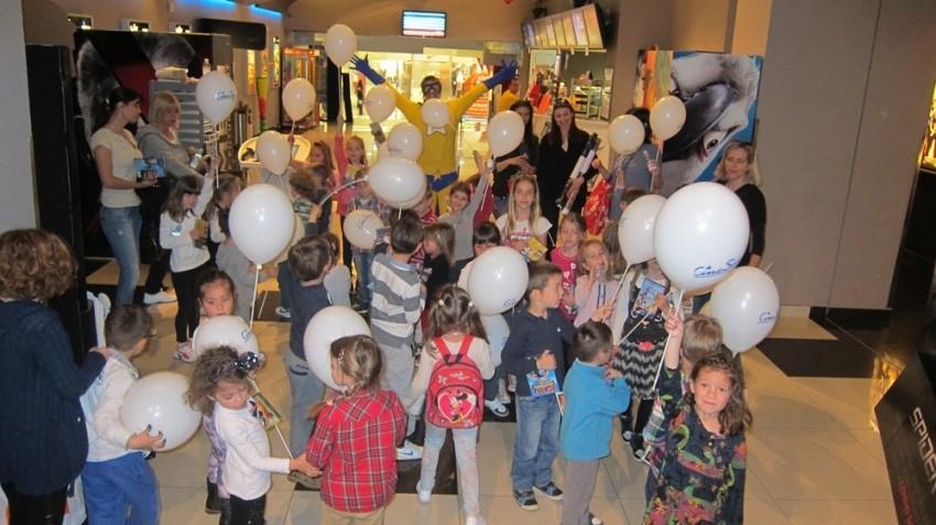Dječji festival u Cinestaru