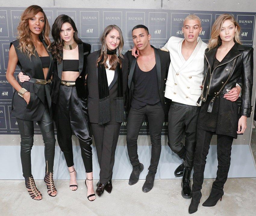 Olivier Rousteing sa svojim muzama - Jourdan Dunn, Kendall Jenner i Gigi Hadid