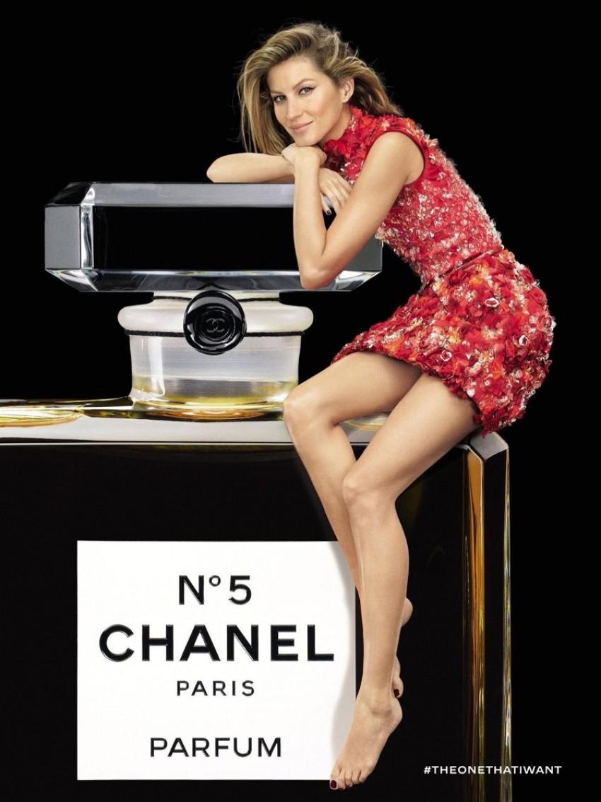Gisele Bundchen za Chanel