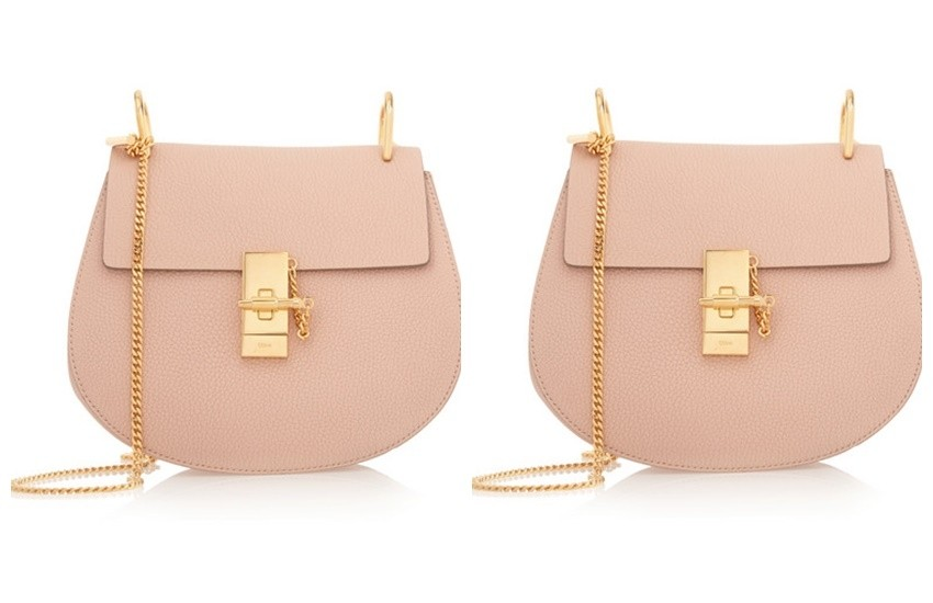 CHLOÉ Drew medium textured-leather shoulder bag $1,850