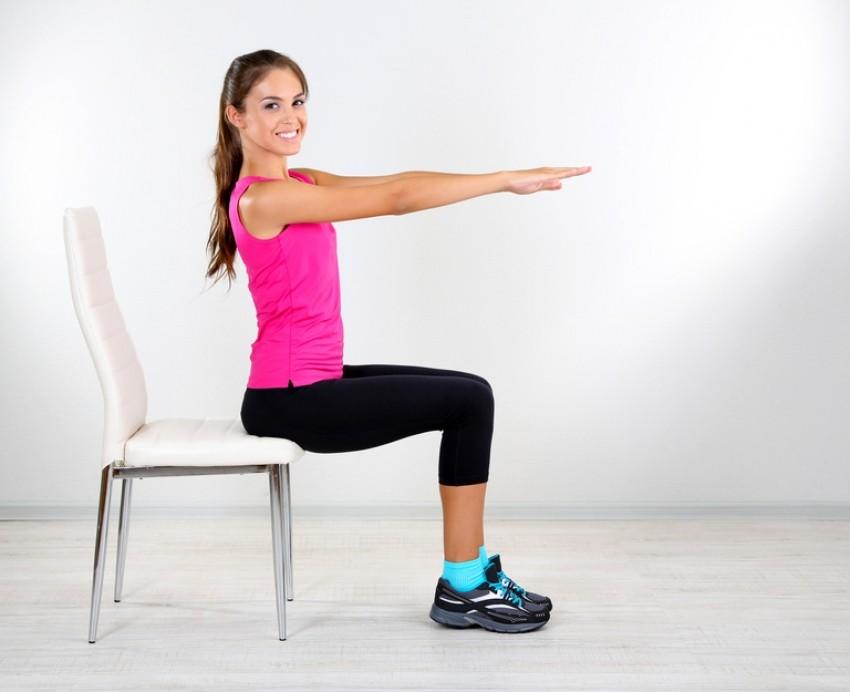 Vježbe na stolcu možete raditi uvijek i svugdje!