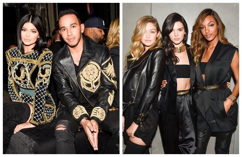 Kylie Jenner u društvu Lewisa Hamiltona / Gigi, Kendall i Joan glavne zvijezde Balmaina