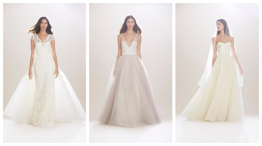 Carolina Herrera Bridal Fall 2016