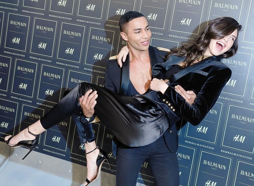 Dizajner Olivier sa svojom muzom Kendall Jenner