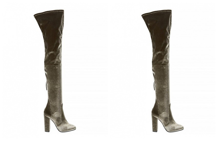 Aquazzura Velvet Over-the-Knee Boots ($995)
