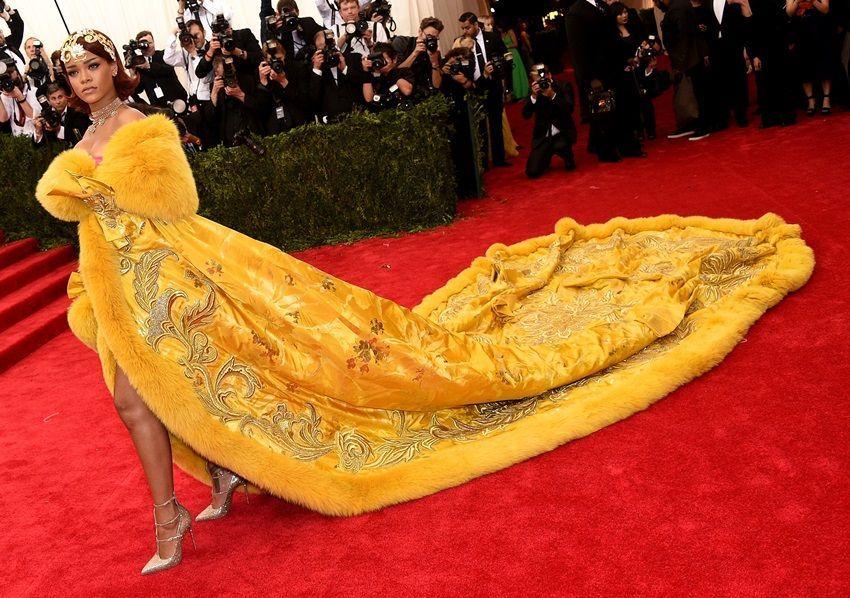 Rihanna na prošlogodišnjoj MET Gali!