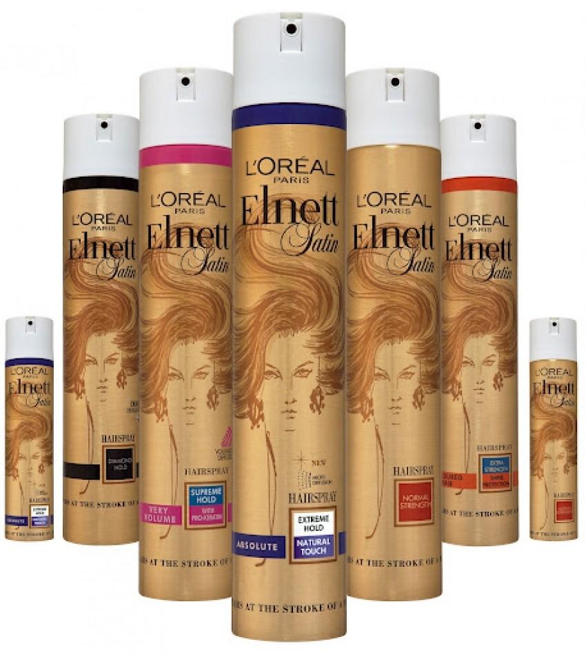L'Oreal Elnett Satin Precious Oils Hairspray