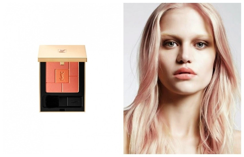 "Yves Saint Laurent Blush Volupté ""Heart of Light"""