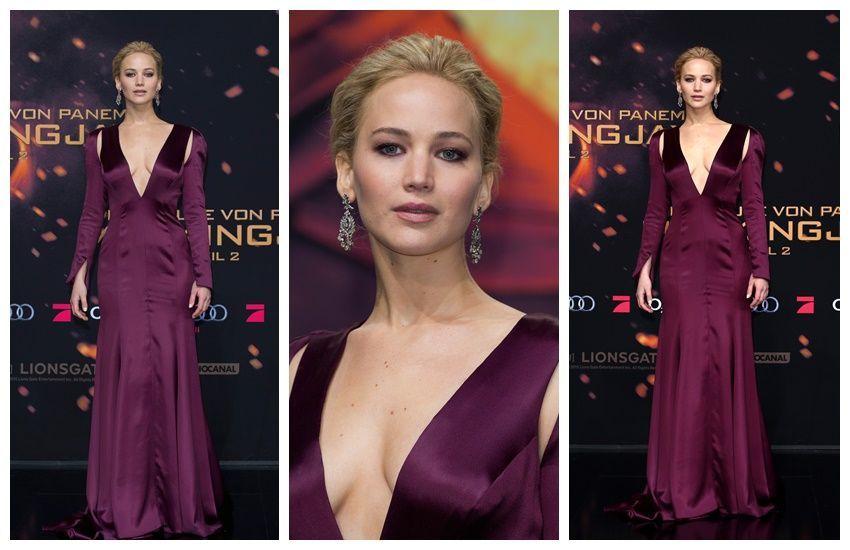 Jennifer Lawrence na premijeri Igra Gladi u Dioru