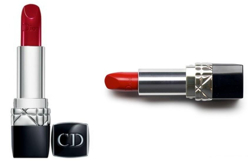 "Dior Rouge Dior Lipstick ""Rouge Massaï"""