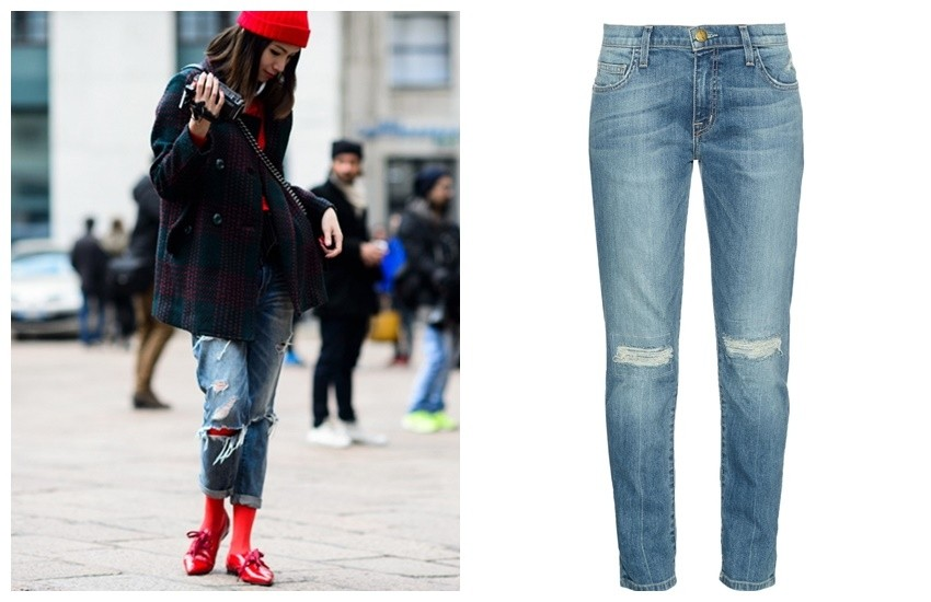 Adam Katz Sinding of Le 21ème / Current/Elliott The Fling Slim Boyfriend Jeans ($288)