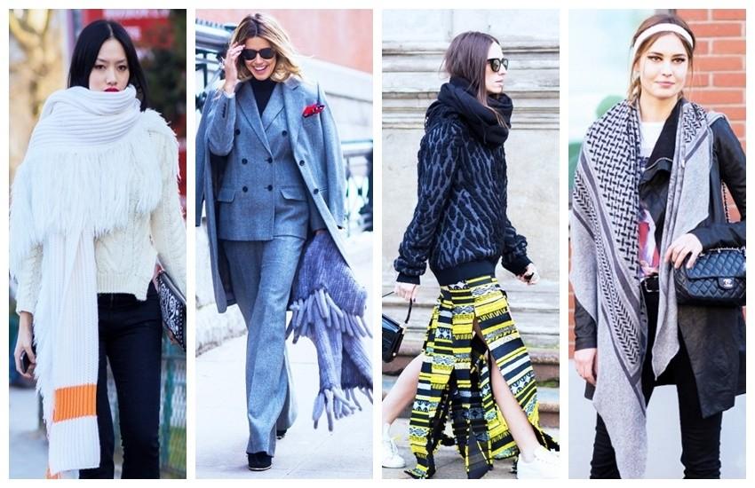 Oversized pleteni šal - novi je trend! (Style Du Monde)