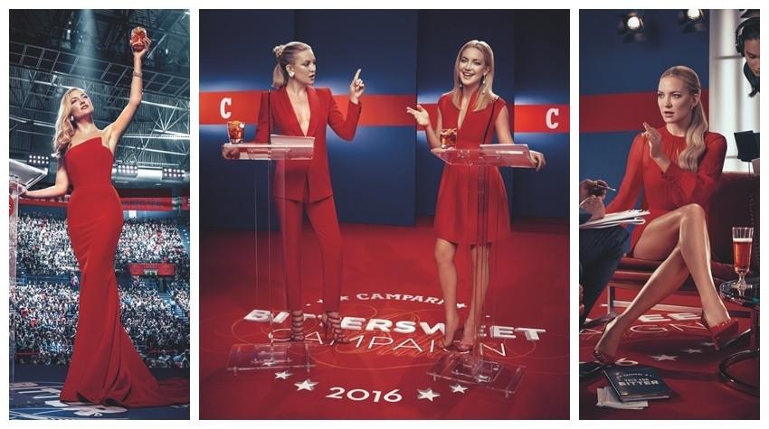 Kate Hudson nova je zvijezda Camparijevog kalendara za 2016.