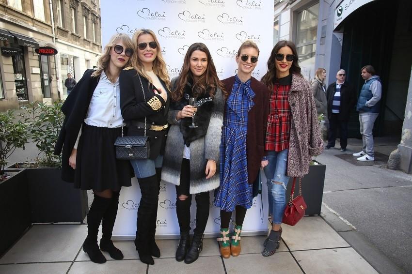 Brojne poznate dame na druženju u Teslinoj