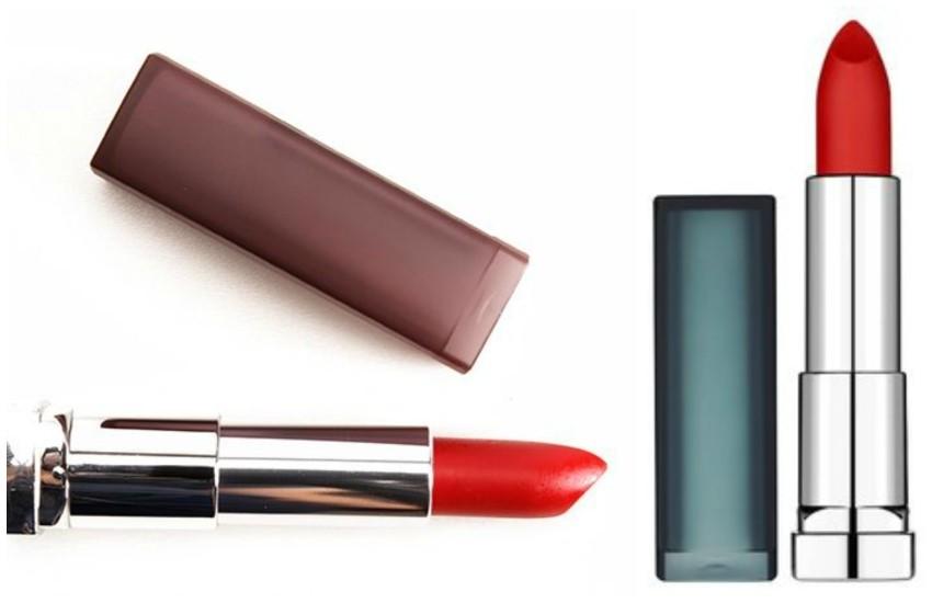 "Maybelline ColorSensational Creamy Matte Lipstick  ""Siren in Scarlet"""