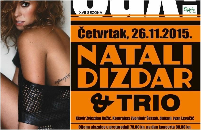 Natali Dizdar i Trio u Saxu!