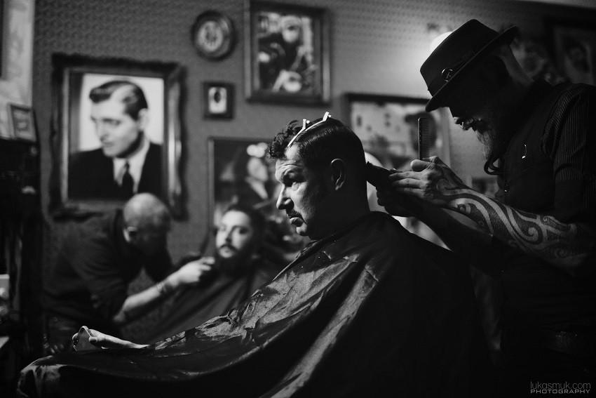 Boris Kovaček u rukama Barbera