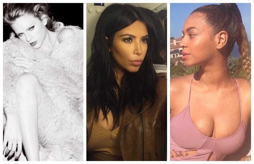 Taylor, Kim i Beyonce predvode listu!