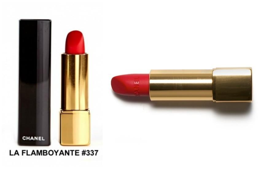 "Chanel Rouge Allure Velvet #337 ""La Flamboyante"""
