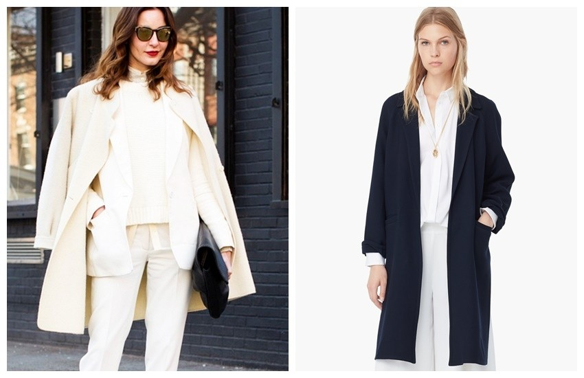 Candice Lake / Mango Wool-Blend Overcoat ($170)