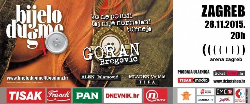 Bijelo dugme - 40 godina u Areni Zagreb