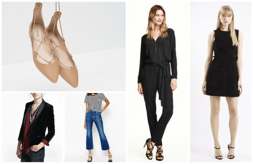 Zara balerinke, H&M kombinezon i velvet blazer iz Manga - naši su TOP favoriti!