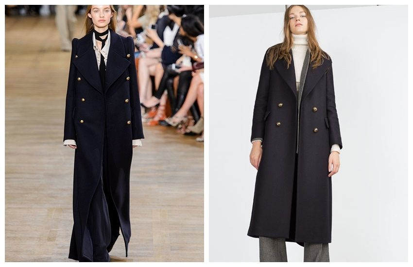 Chloe Runway / Zara Extra Long Coat