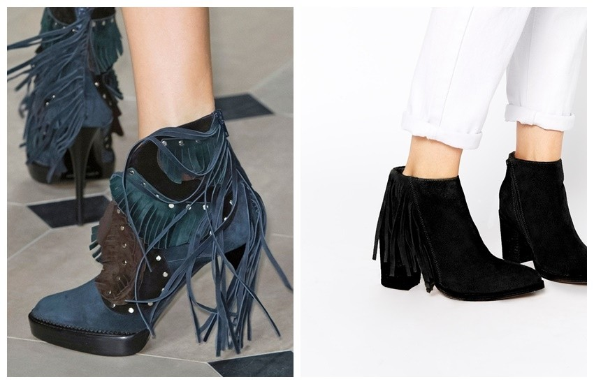 Burberry Prosum Runway / ASOS Riley Suede Booties
