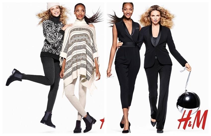 Jourdann Dunn i Natasha Poly izgledaju preslatko u novoj kampanji H&M-a