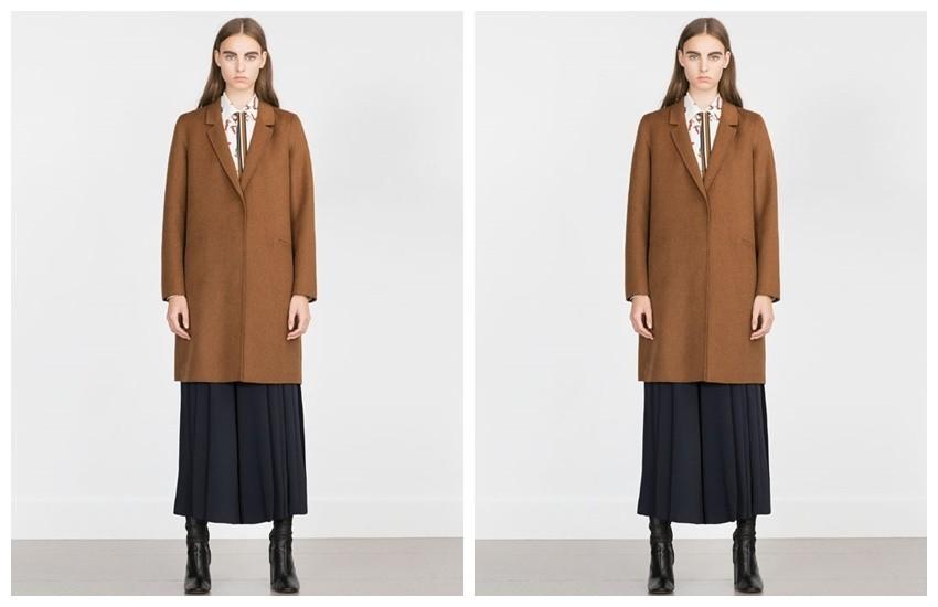 Ovaj Zarin kaput (799.90 HRK) odiše luksuzom, a prihvatljive je cijene