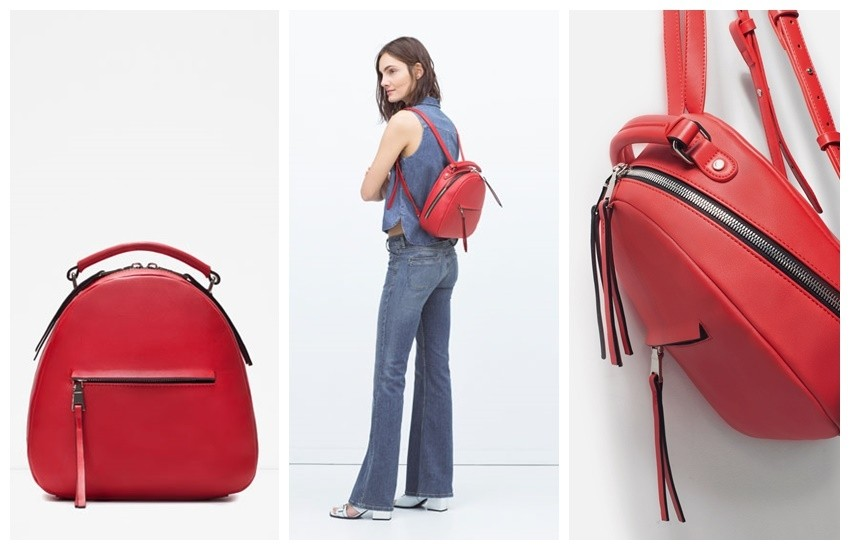 Zara BACKPACK WITH ZIP 299.90 HRK