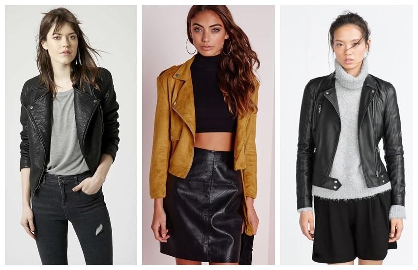 Topshop Faux Leather Biker Jacket $24.00, Missguided zazula faux suede biker jacket mustard £40.00, Zara BIKER JACKET 359.90 HRK