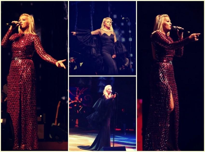 Prošli je vikend Nina Badrić zasjala na svojim dva koncertima - jedvnu večer u eNVy room haljini, a drugu u haljini Roberta Severa