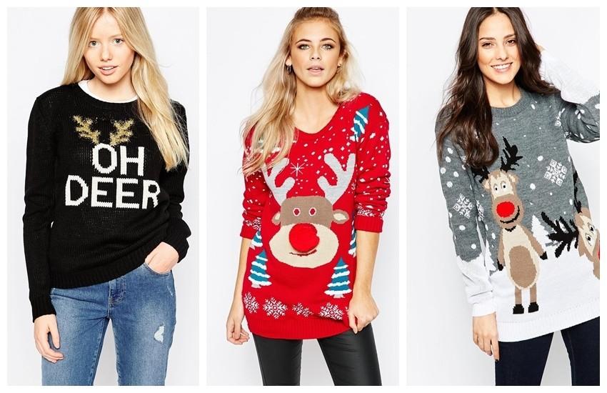 OBOŽAVAMO božićne pulovere!