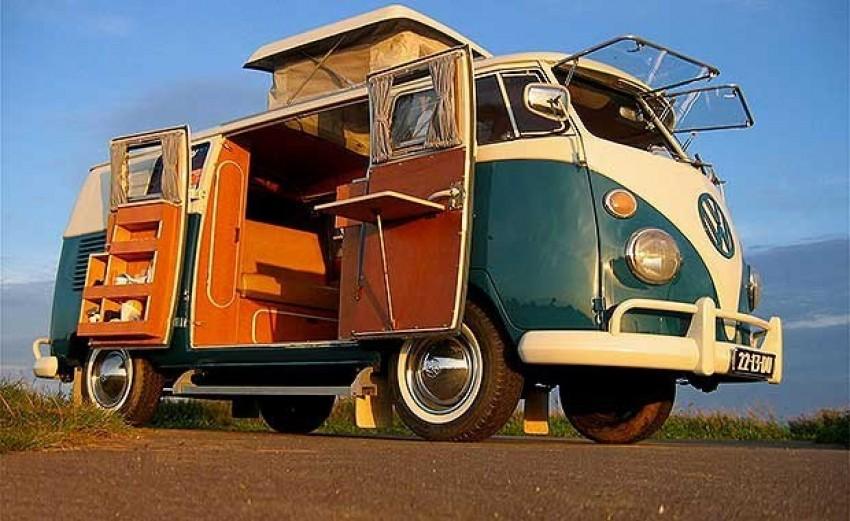 Klasični Volkswagen kamper