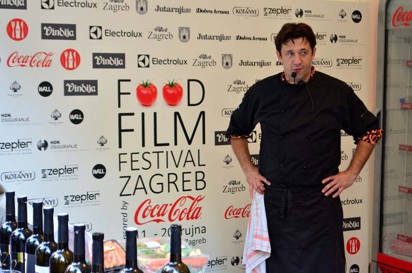 Christian Misirača, Food Film Festival Zagreb