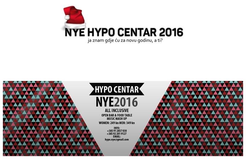 NYE 2016 @ HYPO CENTAR presents #na[opako!]