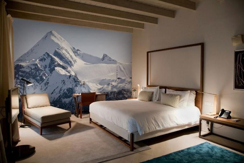 Zidne tapete sa zimskom temom koje se mogu odlijepiti i ponovno zalijepiti