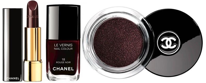 Chanel Božićna makeup kolekcija: Rouge Noir