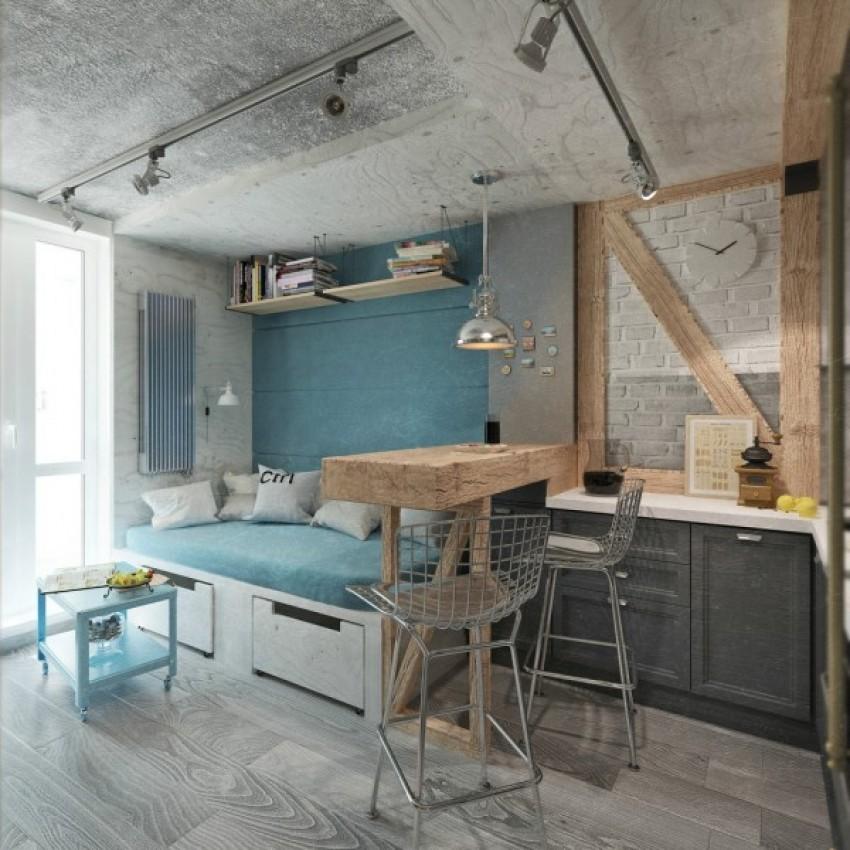 Kako urediti stan ispod 50 četvornih metara?