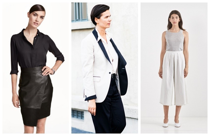 H&M Long-Sleeve Blouse // Rachel Comey Wayward Pants