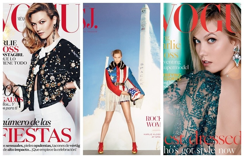 Vogue Mexico // WSJ Magazine // Vogue UK