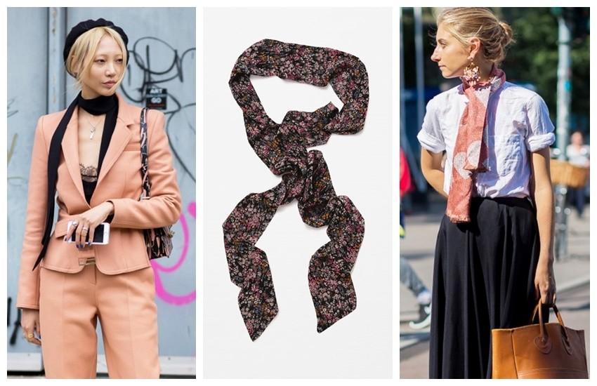 Style Du Monde // Zara Mini Scarf
