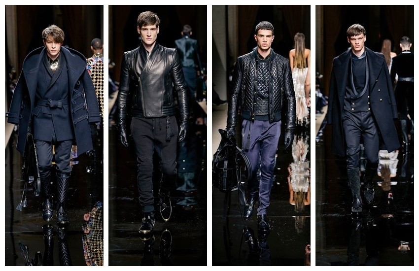 Balmain Men's Fashion Week 2016