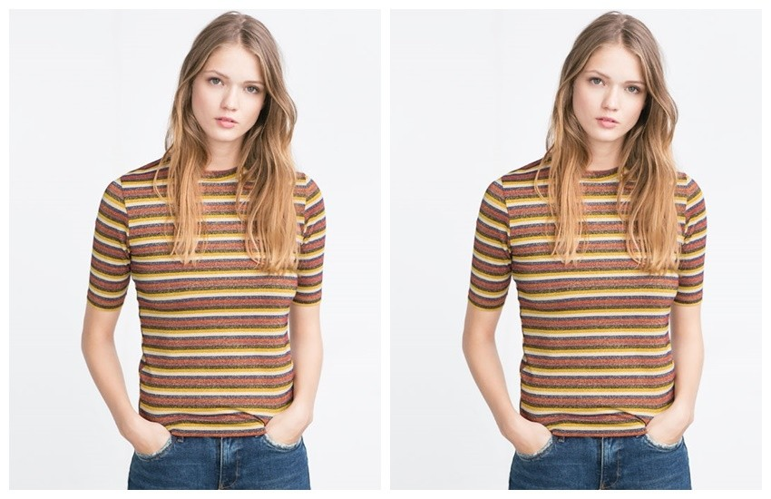 ZARA Striped T-Shirt  59.90 HRK